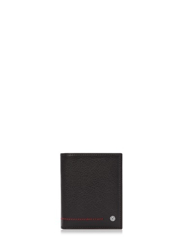 Cengiz Pakel Hakiki Deri Erkek Cüzdan 13643-Siyah-Saks Renkli
